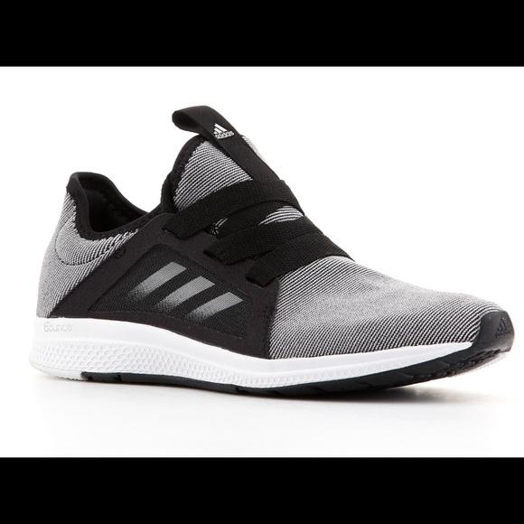 le adidas edge lux scarpa da corsa, nera e grigia 95 poshmark